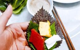 Món sứa đỏ 'gây thương nhớ' cho thực khách Hà thành