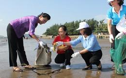 Phụ nữ là lực lượng quan trọng trong các khâu quản lý rác thải nhựa