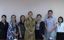 Lãnh đạo cấp cao của Plan Bỉ thăm và làm việc tại Hội LHPNVN