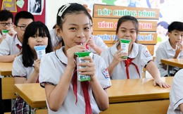Hơn 1 triệu học sinh Hà Nội tham gia chương trình Sữa học đường