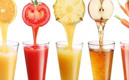 Nước ép rau quả vừa ngon, vừa tăng hệ miễn dịch