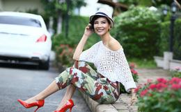 Cựu siêu mẫu Vũ Cẩm Nhung gợi ý 4 'set' đồ Thu Đông