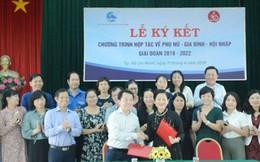 Hội LHPN Việt Nam hợp tác với Saigon Co.op trên 8 nội dung