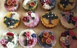 Mỗi chiếc bánh Trung thu thủ công như một tác phẩm nghệ thuật