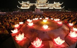 Linh thiêng Đại lễ cầu nguyện quốc thái dân an, thế giới hòa bình, chúng sinh an lạc