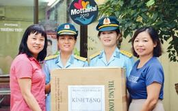 Hội Phụ nữ Lữ đoàn 28 'trao yêu thương' cùng Mottainai 2019