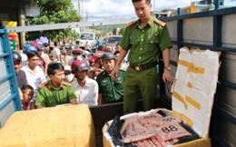 Quảng Trị: Thu giữ 630 kg sụn gân gà không rõ nguồn gốc