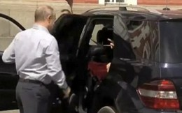 Nhân vật bí ẩn ngồi sau tay lái Tổng thống Putin
