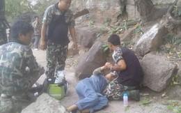 Người phụ nữ mang thai thoát chết hi hữu khi bị chồng đẩy ngã từ vách đá
