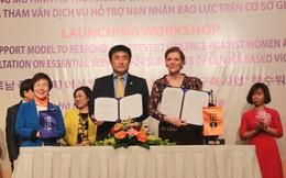 2,56 triệu USD xây dựng mô hình phòng chống bạo lực phụ nữ, trẻ em gái