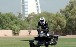 Cảnh sát Dubai lái xe bay trên không trung tuần tra tội phạm