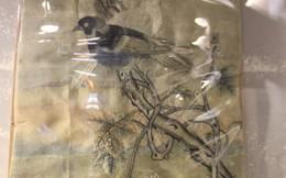 """Kỷ niệm Ngày TBLS 27-7: Bức tranh """"Uyên ương thêu dở"""""""