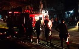 Nghệ An: Cháy chợ lúc nửa đêm, hàng chục kiot bị thiêu rụi hoàn toàn