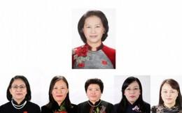 6 nhân sự nữ đảm nhiệm 12 chức danh
