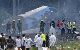 3 phụ nữ sống sót sau tai nạn máy bay ở Cuba