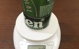 Khách hàng 'tố' lon bia Heineken 'bị lỗi'
