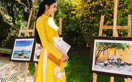 Hoa hậu Ngọc Hân sang Pháp dự 'Diễn đàn người Việt có tầm ảnh hưởng'