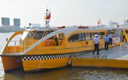 Tuyến buýt đường sông đầu tiên ở Sài Gòn chính thức hoạt động