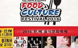 Trải nghiệm văn hoá ẩm thực Việt Nam - Hàn Quốc