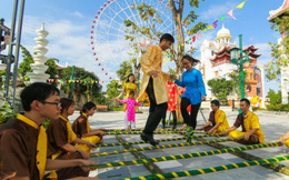 Một thế giới sôi động lễ hội ở các khu vui chơi giải trí Sun World