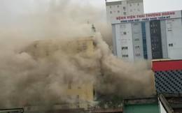 Cháy lớn ở khách sạn Avatar Nghệ An