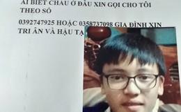 Người mẹ khóc ròng tìm con trai mất tích khi đi học tiếng Anh