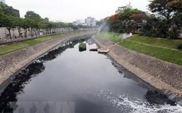 Kiểm tra nước sông Tô Lịch sau một tháng dùng công nghệ Nhật