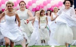 Các cô dâu 'cưới đẹp, cưới khỏe'