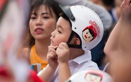 Các bậc cha mẹ hãy đội mũ bảo hiểm cho trẻ em