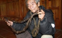 Dị nhân Sơn La 70 năm nuôi tóc