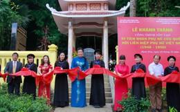 Khánh thành công trình tôn tạo Di tích Đoàn Phụ nữ cứu quốc