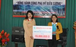 Hội Phụ nữ Cục CSGT 'Đồng hành cùng phụ nữ biên cương' Lạng Sơn