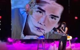 Phương Thanh khóc nức nở khi hát với cố ca sĩ Minh Thuận