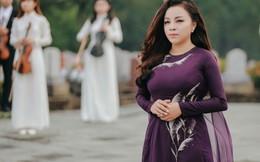 NSƯT Tố Nga mang dàn nhạc giao hưởng ra Nghĩa trang Đường 9 quay MV
