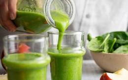 Top 4 loại sinh tố xanh giúp điều trị huyết áp cao