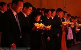 Xúc động Lễ tưởng niệm nạn nhân tử vong do tai nạn giao thông