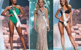 10 mỹ nhân đẹp nhất Miss USA 2017 trong trang phục áo tắm và dạ hội