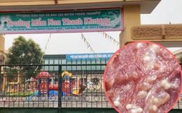 Công ty nào cung cấp thực phẩm cho trường mầm non có trẻ nhiễm sán lợn?