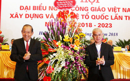 Phó Thủ tướng Trương Hòa Bình dự Đại hội Ủy ban Đoàn kết Công giáo Việt Nam