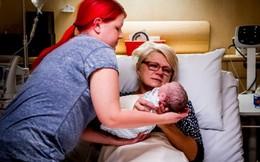 Mẹ sinh con hộ con gái mắc bệnh