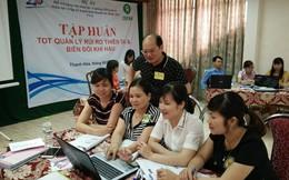 Hỗ trợ phụ nữ 3 tỉnh lập kế hoạch kinh doanh, ứng phó thiên tai