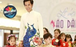 Dàn mẫu nhí sẽ trình diễn áo dài chủ đề Giáng sinh tại Ngày hội Mottainai 2019