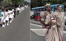 Nhờ 250 học sinh nâng váy cưới 3,6 km đôi uyên ương đối mặt 10 năm tù