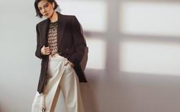 Vũ Cẩm Nhung đầy thu hút với phong cách thời trang menswear