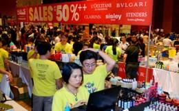 'Thiên đường đồ hiệu' giảm giá tới 50%