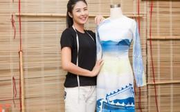 Hoa hậu Ngọc Hân được mời diễn áo dài tại UNESCO