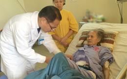 Ngại đi viện, cụ bà 87 tuổi bị hoại tử toàn bộ đại tràng