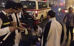 Nghi án xe buýt Hà Nội gây tai nạn bỏ chạy