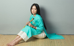 Á khôi Miss Photo Thạch Thảo đẹp thanh thoát với BST Thiền của NTK Hoài Sang