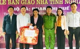 Bàn giao nhà tình nghĩa cho vợ liệt sĩ ở Hà Tĩnh